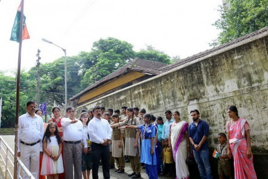 Mangala English Medium School celebrated Independence Day with Patriotic Fervour
