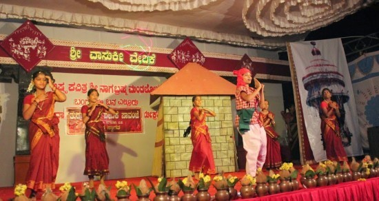 TUDAR KALAAVEDIKE ; Wonderful teamwork, & Entertainment spiced with local-history