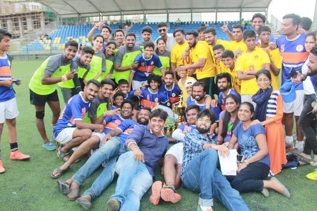 Mumbai: Crowd Thrilled Watching Devadiga Football League 2018