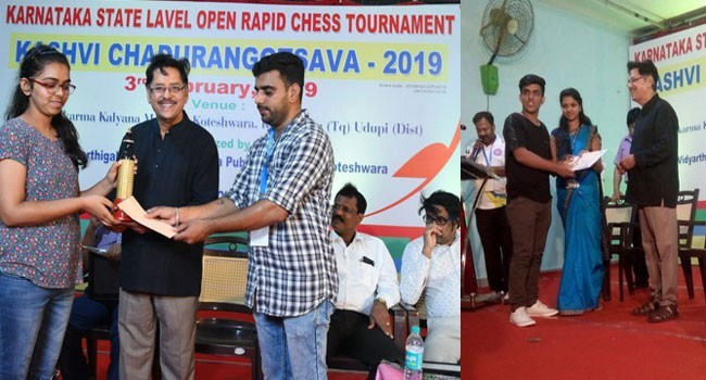 Manish & Mahima Sherigar shine at Karnataka State-Level Open Rapid Chess
